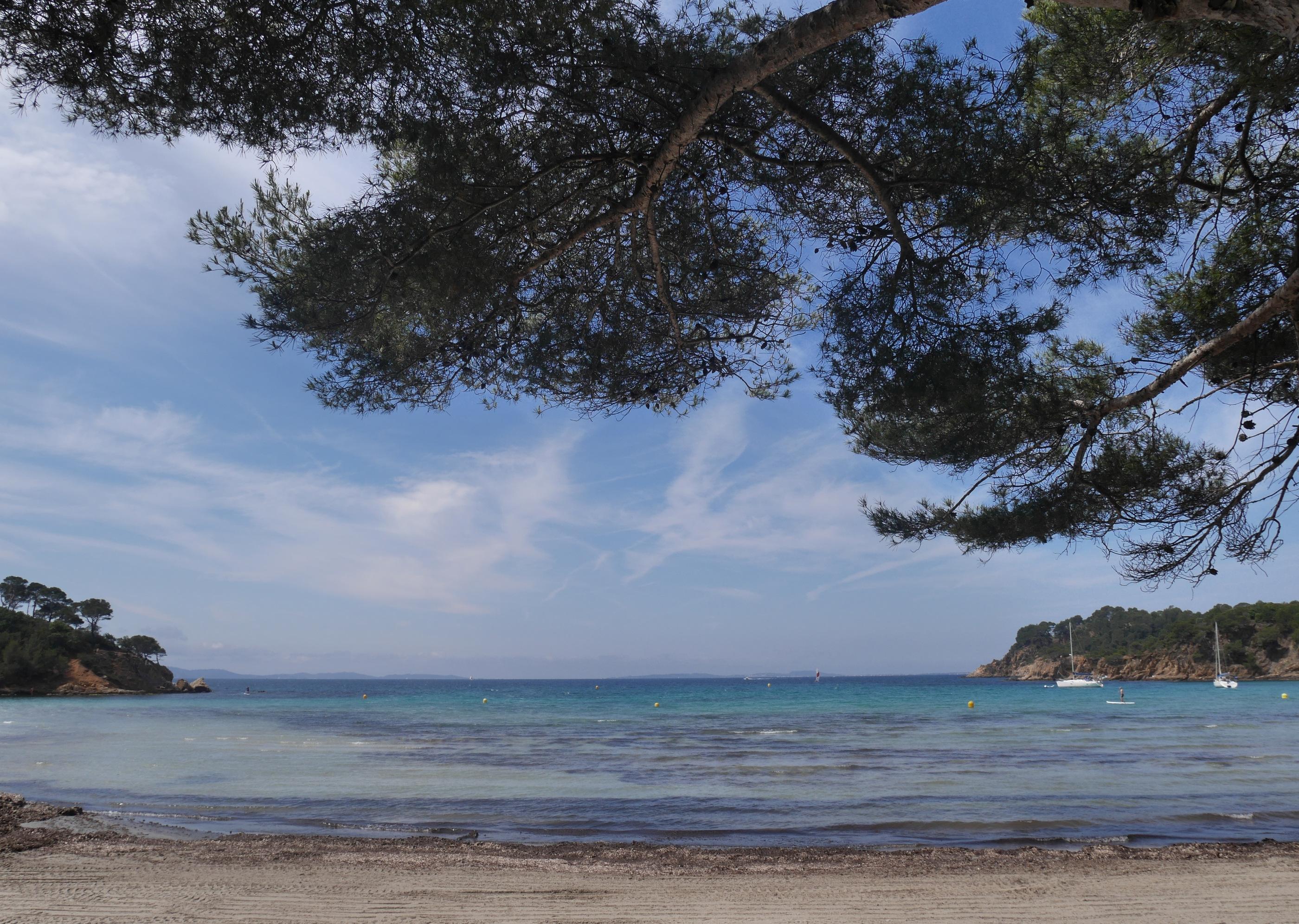 De la plage de l'Argentière au Fort de Brégançon 23/05/2018